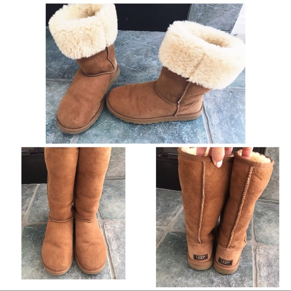 6ba1df08f36 Ugg classic tall chestnut boots .Size 6